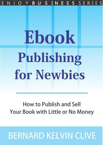 Ebook publishing for newbies