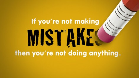 making mistakes for learning