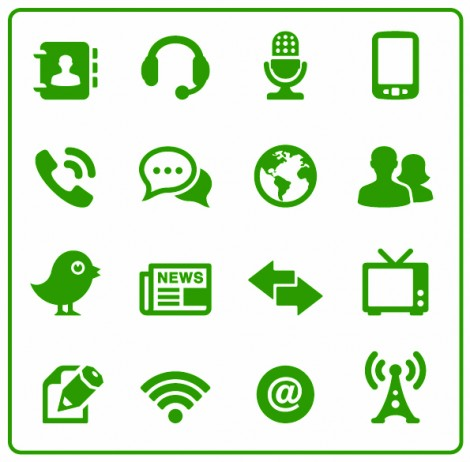 communication-icons