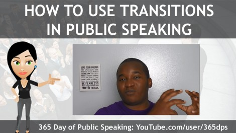 How to Use Transitions in Public Speaking