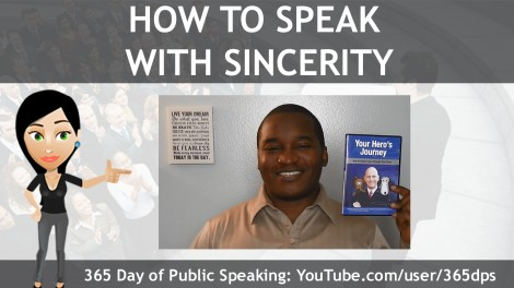 How to Speak with Sincerity
