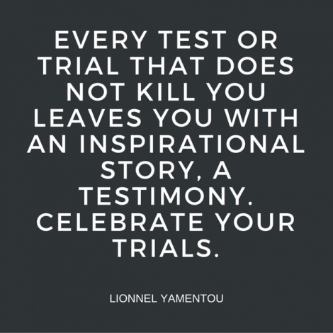 QUOTE #003 - Every Test, Testimony
